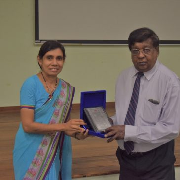 "Guest Lecture on ""Possible Impacts of an FTA on the Sri Lankan Economy"""