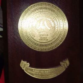 Gold Medal for Best Research Paper