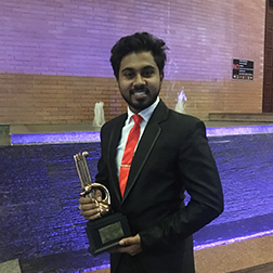 BEC Student wins Best Speaker National Youth Award 2018
