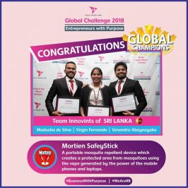 Three USJP Management Undergraduates win RB Global Challenge 2018