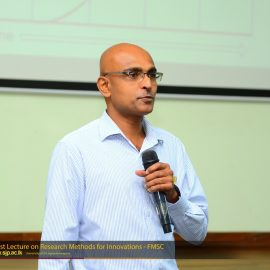 Guest Lecture on Research Methods for Innovations
