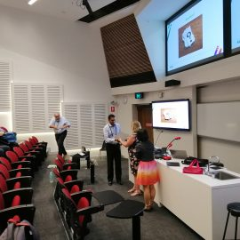Dr. Mahesh Fernando wins the best student paper award at Health Informatics and Knowledge Management (HIKM) conference 2019 held in Australia.