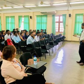 """Guest lecture on """"Careers in Capital Market Space"""""""