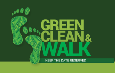 Green, Clean and Walk by the Alumni Association of FMSC