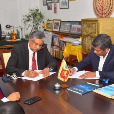 MoU between Moody's Analytics Knowledge Services and the Dept of ACC