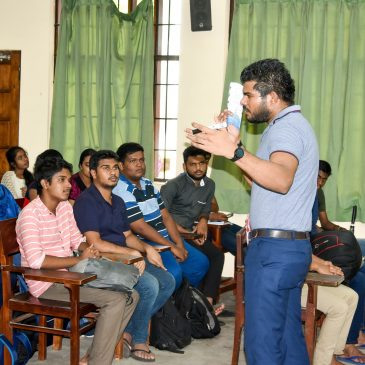 Workshop on future career pathways organized by the Dept of IT