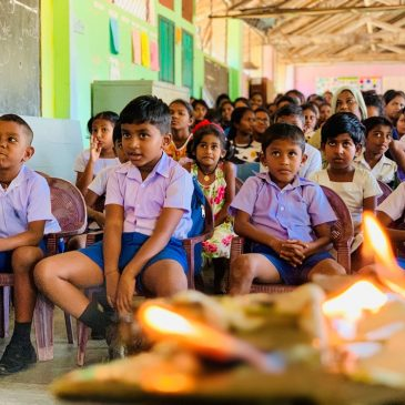 Colouring Smiles 2019: Annual CSR Project of Dept of BEC