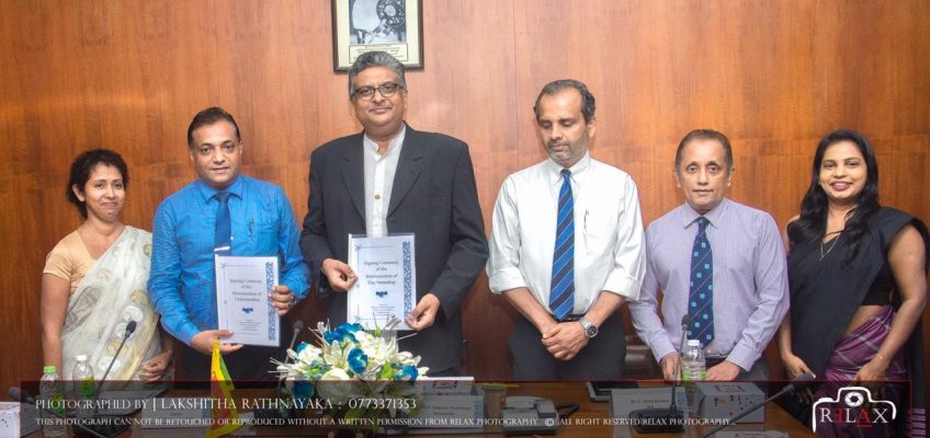 MOU was signed between, ICT Industry Skills Council and USJP.