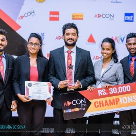 J'Pura Marketers won the Championship in Adcon 2019