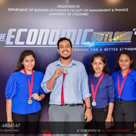 BEC Students emerge as Runners-up at 'The Economic Outlook 2020'
