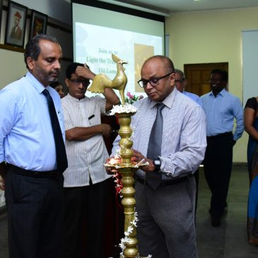 The Inaugural ceremony of the newly initiated two postgraduate programs
