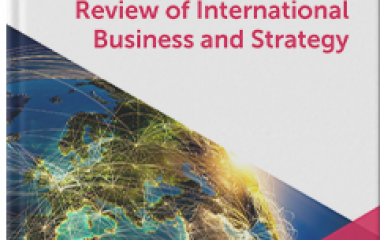 Dr. Dushar's Paper is Among the Specially Selected Papers in the 30th Year of Publication of Review of International Business and Strategy