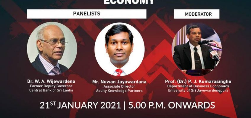 """The Panel Discussion on """"Credit Ratings & Sri Lankan Economy"""""""