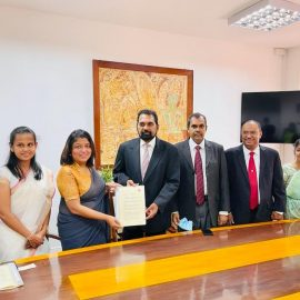 Extension of the MoU with the ACCA,UK