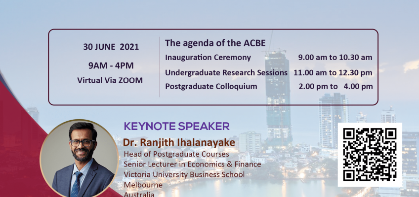 2nd Annual Conference on Business Economics (ACBE) 2021